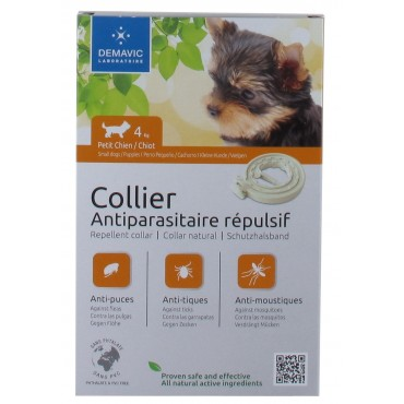 Collier insectifuge...