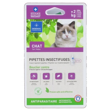 Pipette insectifuge chaton...
