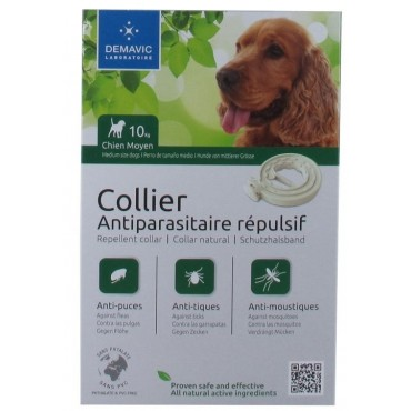 Collier insectifuge chien...
