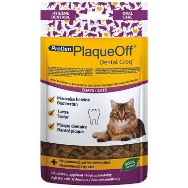 PlaqueOff dental chat 60g